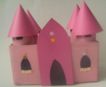 To close at back of head, simply twist pipe cleaners together! Fairy-tale Castle Craft Who could resist trying this fairytale castle craft!