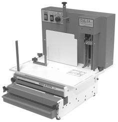 The maximum punching length is 11 or A4 European format. Any sheet smaller can be punched for the minimum size.