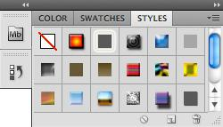 You can also choose a color from the spectrum of colors displayed in the color ramp at the bottom of the palette. Figure 4.