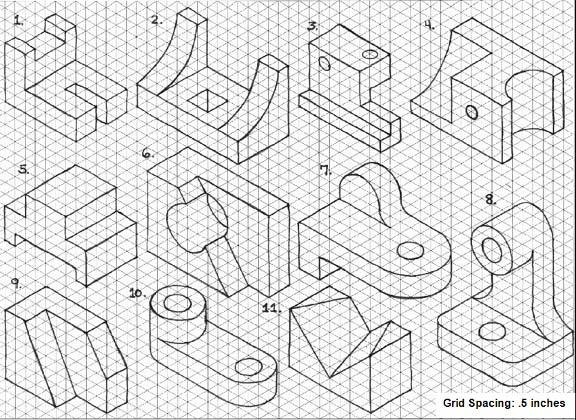 Assessment Student Guide Materials: Computer with Autodesk Inventor installed Procedure: In this assessment, you will create computer models of different objects.
