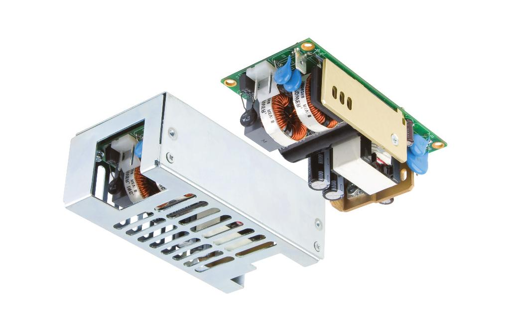 65// Watts ECS Series IT & Medical Safety Approvals xppower.com 65// W - Ratings Class I & Class II Construction Industry Standard 2 x 4 Package <0.