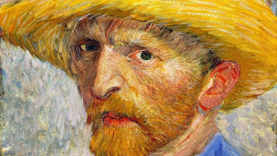 "Artists: Vincent van Gogh By Biography.com Editors and A+E Networks, adapted by Newsela staff on 07.19.16 Word Count 720 Level 940L Vincent van Gogh's ""Self-Portrait with Straw Hat"", painted in 1887."