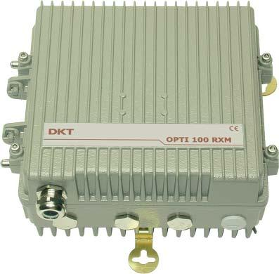 OPTI 100RX Output level typ.