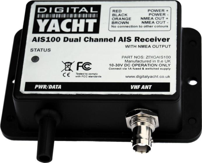 receivers can take twice as long to update Dual Channel All Digital Yacht AIS units feature a high performance Dual Channel receiver