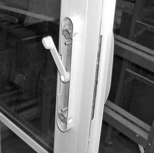 Handle Installation 4-Wide Door (cont.) FIGURE 11 FIGURE 12 INTERIOR HANDLE 11.