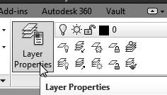 Create two new layers with the following settings: Layer Color Linetype Construction White Continuous Object