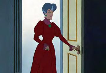 Figure 29. Lady Tremaine s feminine features are hard to see in her unflattering dresses. Citation: Cinderella.