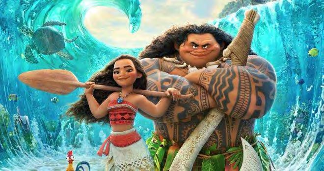 Figure 48. Moana (left) is the first Polynesian Disney princess.