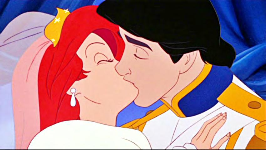 Appendix of Complex Female Figures Figure 18. The wedding scene between Ariel and Prince Eric. Citation: The Little Mermaid.