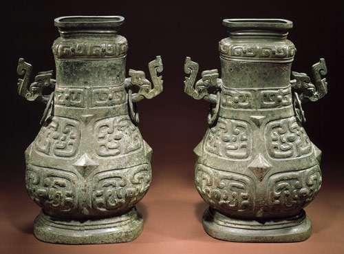 Top: Covered wine containers, late Western