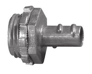 19) FC-5501 GC GC-38 through GC-200 listed for use with regular and reduced wall GC: Screw-In Connectors Screw-in type connectors for flexible metal conduit. Feature GC-38 Millimeters Without 33.0 (1.