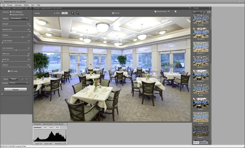 High-dynamic range (HDR) Photomatix is free editing