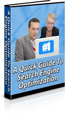A Quick Guide To Search Engine Optimization For our latest special offers, free gifts and much more, Click here to visit us now You are granted full Master Distribution Rights to this ebook.