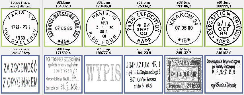 66 Stamp detection in scanned documents Fig. 5. Examples of similar stamp retrieval.