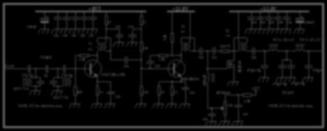 Step 8: TX Amplifiers and Low-Pass Filters (LPF) This part of the circuit includes a BPF composed of two DIY7- xx IFT's (DIY-3.