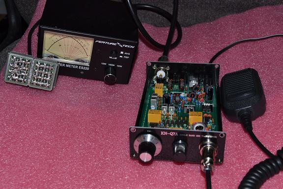 Then, tune the Sandwich digital VFO to check the frequency coverage and accuracy.