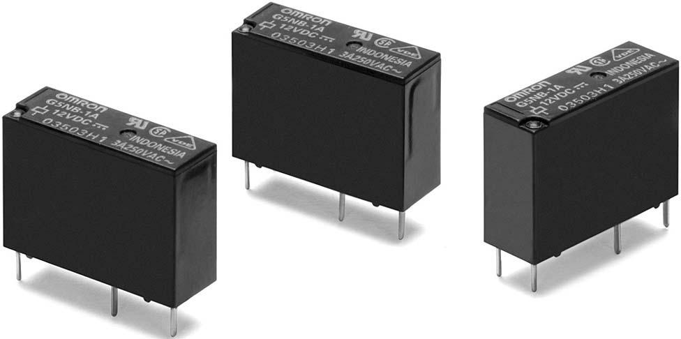 PC Power Relay A Miniature Relay with -pole A/5A Switching Capability and 0 kv Impulse Withstand Voltage Highly efficient magnetic circuit for high sensitivity (200 mw).