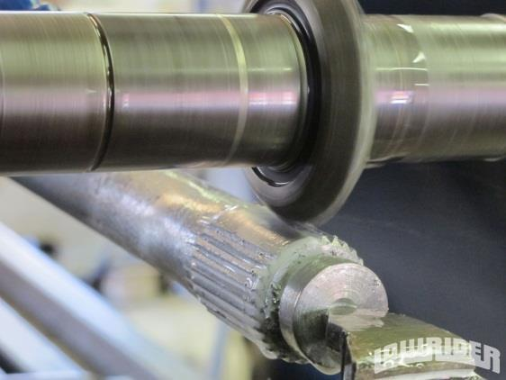 machining for zone wise flight cutting) Spline