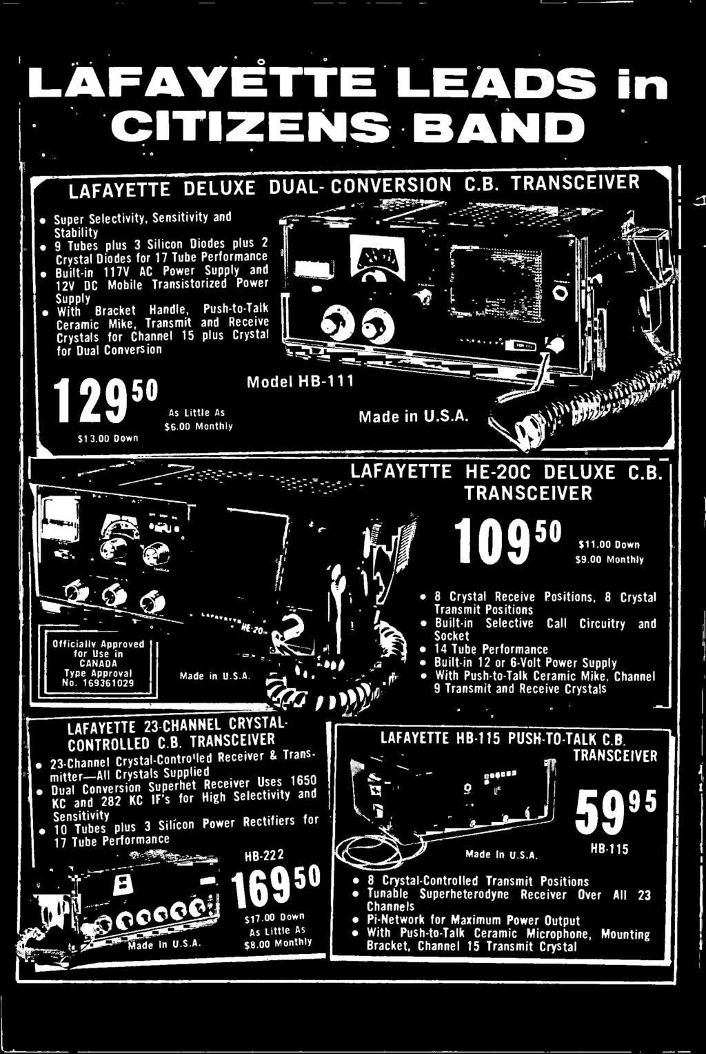The Official Cb Radio Magazine Citizens Band Journal All About Ignition Circuit Diagram For 1935 Chevrolet Master De Luxe Standard And Truck Models 00 Monthly Model Hb 111 Laf