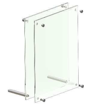 ACCESSORIES Acrylics Illustrated are the basic range of acrylic holders, frames and pockets which are