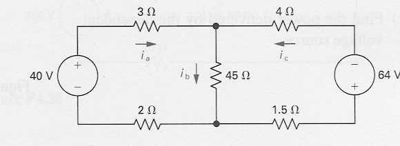 Mesh Circuit Anlysis Method 1) Select M independent mesh currents such tht t lest one mesh current psses through ech rnch* M = #rnches - #nodes 1 2) Apply KVL to ech mesh, expressing voltges in terms