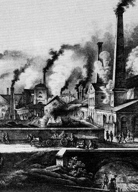 The Industrial Revolution (1750 1850) A period intense and rapid technological advancements