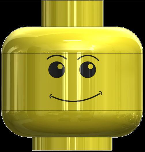 62 61 Draw the face to your own design or copy one from a Lego figure. Note: YOU MUST STICK TO CLOSED SHAPES, NO SINGLE LINES. Try the slot tool for mouth, eyebrows etc.