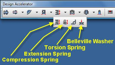 1 The Design Accelerator toolbar above includes the