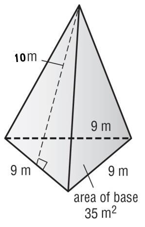 the surface area of prism?