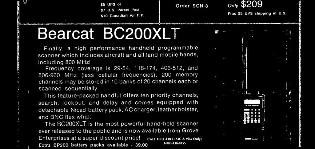 1-800 -438-8155 Extra BP200 battery packs available - 39.