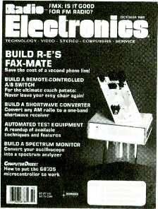 Ratio- www.americanradiohistory.com GET THE LATEST ADVANCES IN ELECTRONICS WITH A SUBSCRIPTION TO Radis- Eleclronïci. IS IT G000 Eketroic FOR FM RADIO?