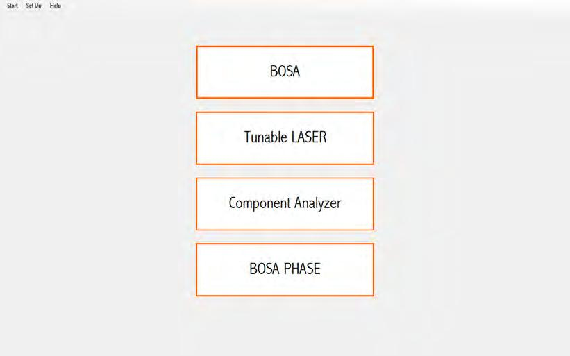 Upgrade Options Integrated in the same mainframe, BOSA options add multiple measurement capabilities to your unit, making it a real all-terrain instrument for your research lab. or Network.
