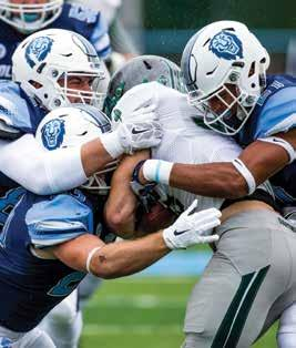 defense shut down Dartmouth in a 9 7 victory on October 22. Columbia s last Homecoming win came in 2000. Milstein kicked field goals of 31, 20 and 33 yards through the inclement weather at Robert K.