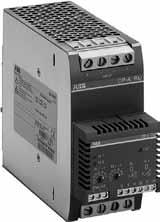 Ordering details Description The power supply units in the CP-S and CP-C range are ABB s high-end solutions.