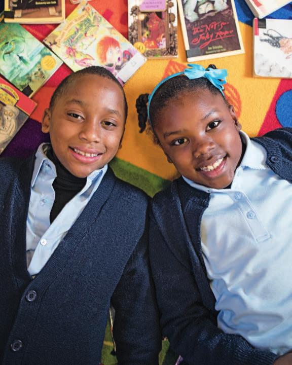 Twins Melaki and Myaja started participating in the Reading Coaches program in the fall of 2015, when they were in first grade.