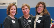 Leadership Committee members Liz Dagres and Deb Barbary at the 5th Annual Spring Luncheon Maura Smith, Suzanne Besser, and Amy Haskel at the 5th Annual Spring Luncheon Carol Caporizzo with Leadership