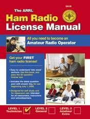 Materials to help you prepare Print Material: The ARRL Ham Radio License Manual -- All you need to become an
