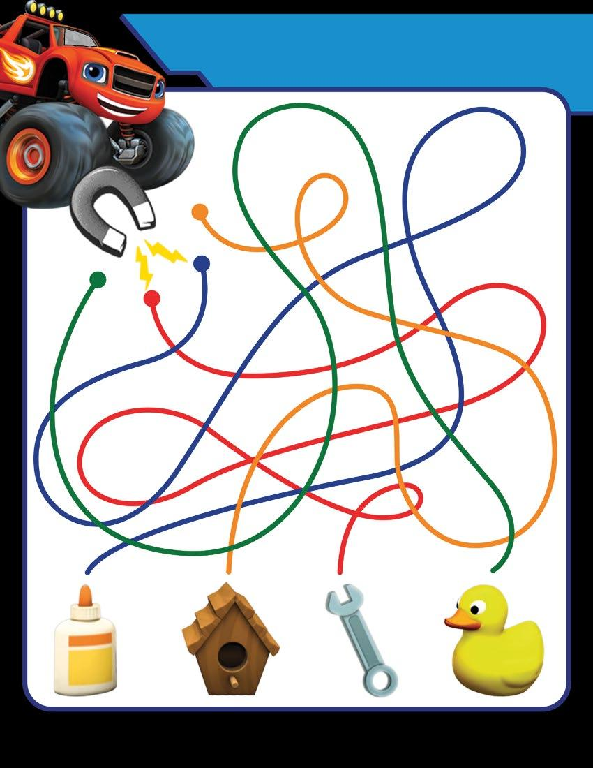FOLLOW THE LINE: MONSTER MAGNETICS! Can a magnet attract a rubber ducky? What about a wrench?