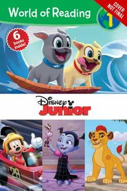 World of Reading: Disney Junior Level 1 Bind-up Minnie Saves Christmas Board Book and CD Disney Press 978-1-368-01909-5 1368019099 Release Date: 8/8/2018 On Sale Date: 9/4/2018 Price US/CAN: $7.99/$8.