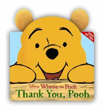 Winnie the Pooh and his friends from the Hundred-Acre Wood contemplate some of the best things to say thank you for in this delightful board book that comes with plush Pooh Bear ears!