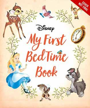 My First Disney Classics Bedtime Book Say night-night to all your favorite Disney characters in this adorable padded storybook, the first in a new series!