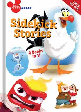 Sidekick Stories In these original stories with fresh art, get to know your favorite Disney sidekicks from Snow White and the Seven Dwarfs, Frozen, Inside Out, and The Little Mermaid with this fun