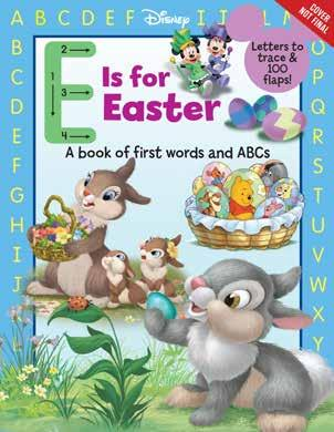 ready for Easter. Disney Press 978-1-368-02148-7 1368021484 Release Date: 9/26/2018 On Sale Date: 10/23/2018 Price US/CAN: $8.99/$9.