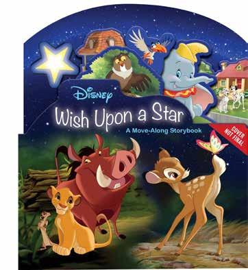 Wish Upon A Star A Move-Along Storybook Sweet Dreams A Light-Up Board Book Explore different classic Disney films in a whole new way with this unique board book featuring a shooting star that moves