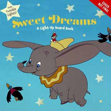 It s time for bed for Dumbo, Bambi, Simba, and other adorable Disney animals, and each one makes a wish on the same star!