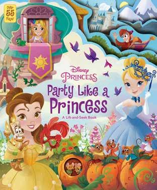 Party Like a Princess A Lift-and-Seek Book This lift-and-seek book for young readers follows your favorite Disney Princesses as they enjoy six different themed parties!
