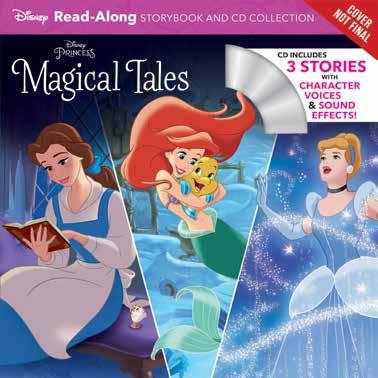 Disney Press 978-1-368-02809-7 1368028098 Release Date: 12/12/2018 On Sale Date: 1/8/2019 Price US/CAN: $9.99/$10.
