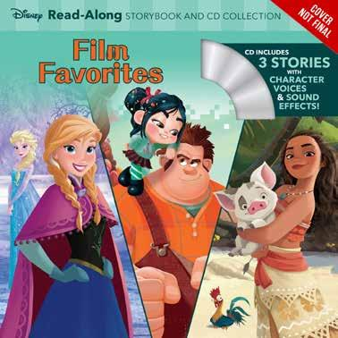 / Media Tie-In) / JUV034000 (JUVENILE FICTION / Royalty) Series: Read-Along Storybook and CD Announced First Print: 50,000 Disney Princess Magical Tales Read-Along Storybook and CD Collection Relive