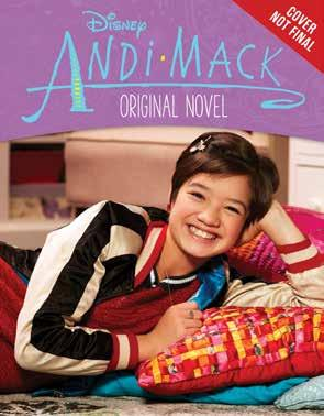 Andi Mack Original Novel Based on the hit Disney Channel series, Andi Mack, this 192-page original novel is a contemporary coming-of-age story about a seventh grader who is on a path of selfdiscovery.
