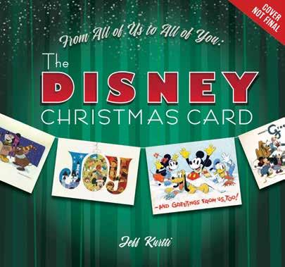 Disney Editions 978-1-368-01871-5 1368018718 Release Date: 8/22/2018 On Sale Date: 9/18/2018 Price US/CAN: $50.00/$50.